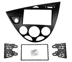 59.99$  Buy now - Double 2 Din Stereo Panel for Ford Focus /Fiesta Fascia Radio Refitting Installation Trim Kit Face Frame Bezel  #aliexpresschina