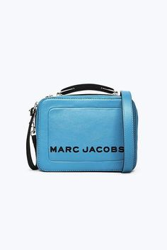 Meet the one-of-the-kind Box Bag from Marc Jacobs. Inspired from the vintage lunchbox, Shop the Box Bag Collection. Pink Moon, New Charmed, Box Bag, Marc Jacobs Bag, Bright Pink, Sale Items, Leather Handbags, Mini, Collection