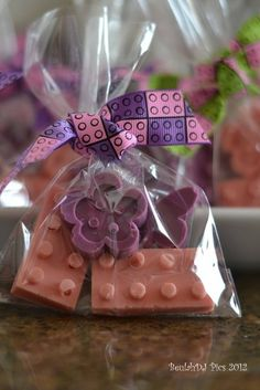 Lego Friends Party Favors #legofriends #partyfavors