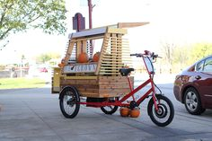 Food bike cart