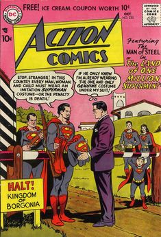 Cover for Action Comics (1938 series) #233