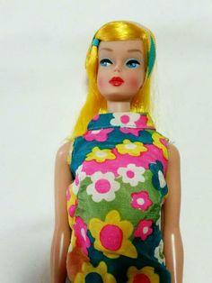 Vintage Color Magic Barbie Doll 1958 Golden Blonde Hair Mattel Made in Japan 1967 Fashion, Golden Blonde Hair, Color Magic, Vintage Barbie Dolls, Barbie Friends, Barbie And Ken, Vintage Colors, Hair Color, Princess Zelda