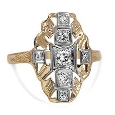 The Naveen Ring #BrilliantEarth #Vintage