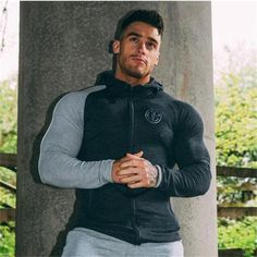 Cheap mens hoodies and sweatshirts, Buy Quality brand men hoodie directly from China men brand hoodie Suppliers: 2017 Fashion New Men Hoodies and Sweatshirts brand clothing Stringer Bodybuilding Men's l design casual pullover autumn hoodies Style Casual, Men Casual, Casual Pants, Style Men, Smart Casual, Casual Styles, Casual Wear, T Shirt Sport, Pantalon Costume