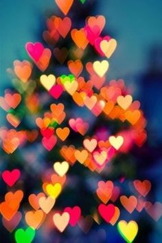 I love the heart bokeh. It's really pretty. I Love Heart, Happy Heart, Jolie Photo, Be My Valentine, Valentine Hearts, Pretty Pictures, Christmas Time, Christmas Lights, Christmas Hearts