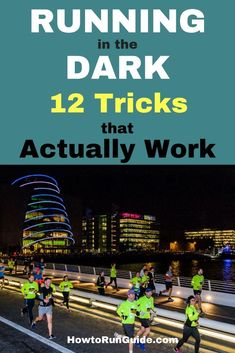Running in the dark is different than daytime running, but do you know ALL of these 12 important tips? Find out how to run in the dark safely! Track Quotes, Running Quotes, Running Motivation, Fitness Motivation, Workout Quotes, Running Humor, Learn To Run, How To Start Running, How To Run Faster