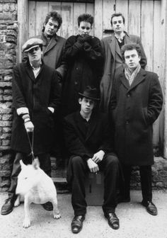 The Pogues are a Celtic punk band from London, formed in 1982 and fronted by Shane MacGowan. The band reached international prominence in the 1980s and early 1990s.