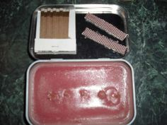How to put together an emergency/camping candle in an Altoids tin. By EaKLondon