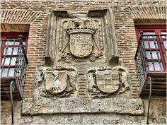 2647-Casas del Tratado en Tordesillas (Valladolid) #CastillayLeon #Spain France Photography, Summer Heat, Spain, Europe, Cool Stuff, Art, Coat Of Arms, Tourism, Viajes
