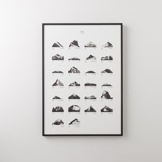 GIFTS FOR HIM by Schoolhouse Electric | Mountains ABC Print