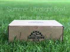 Garage Grown Gear Seasonal Boxes! Ultralight Backpacking, Go Hiking, Box Signs, The Great Outdoors, Trail, Decorative Boxes, Garage, This Or That Questions, Carport Garage