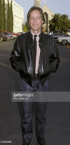 Richard Chamberlain attends Vote Yes On 65 Rally on September 1986 at MGM… Richard Chamberlain, The Bourne Identity, In Hollywood, Hollywood California, Jason Bourne, Looks Great, Photos, Bomber Jacket, Handsome