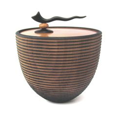 The Turner's Gallery. Off-center handle adds emphasis to simple bowl.