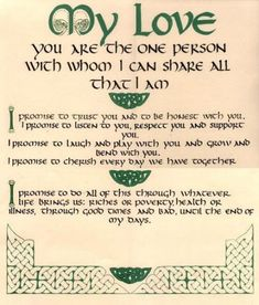 Handfasting vows- it's not pagan it's Celtic! Pagan Wedding, Viking Wedding, Celtic Wedding, Nordic Wedding, Irish Wedding Rings, Wedding Rustic, Irish Wedding Traditions, Wedding Certificate, Irish Quotes