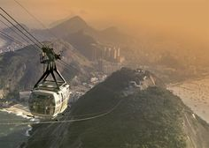 We're definitely doing this excursion to the top of Sugar Loaf Mountain...breathtaking