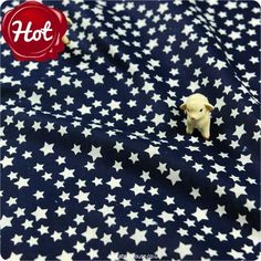 BESTSELLER   Stars ♥ 50x49cm Navy Cotton Fat Quarter Fabric   £2.99 per fat quarter