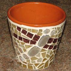 Mosaic Planter - Dragonfly