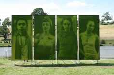 Ackroyd & Harvey: painting with grass
