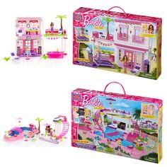 Mega Bloks Barbie Beach House and