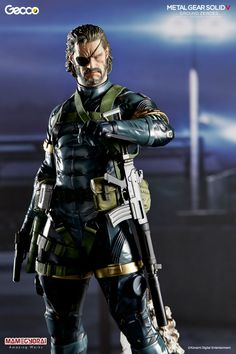 Allow a member of the Militaires Sans Frontières to join your ranks with this 1/6th scale Snake figure! The figure masterfully reproduces Snake's design from the recent *Metal Gear Solid V: Ground Zeroes*, including every last detail from the fabric textures of his clothing and equipment to scars and hairs on his face. The character's personality is also faithfully brought to life through beautifu...
