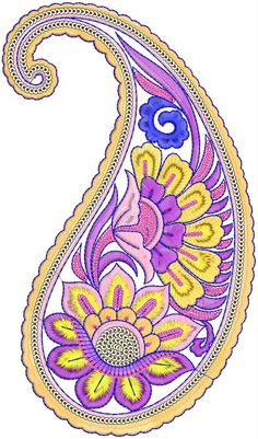 ` Paisley Embroidery, Zardozi Embroidery, Hand Embroidery Patterns, Beaded Embroidery, Machine Embroidery, Embroidery Designs, Dot Patterns, Paisley Art, Paisley Design