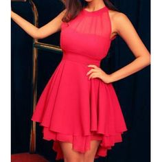 Wholesale Women Novelty Cute Lace Dresses Peplum Party Only $7.83 Drop Shipping | TrendsGal.com