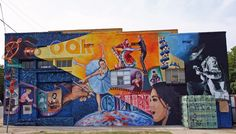 1000 images about bishop arts district is expanding on for Dallas mural artists