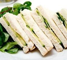 I've always wanted a cucumber cream cheese sandwich!  Also now I want an avocado and cucumber sandwich