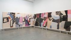 Amy Sillman, 'stuff change,' 2016, installation view. ©AMY SILLMAN/COURTESY SIKKEMA JENKINS & CO., NEW YORK