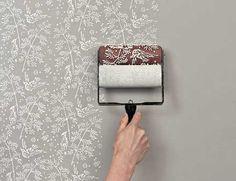 壁に柄をペイントできるペンキローラー「Paint Roller Kit」