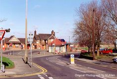 Rayleigh Station Just before the cafe was demolished by a bus. History Photos, Local History, Over The Years, Trains, Sweet Home, England, Country Roads, Cabin, House Styles