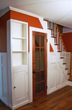 To make a play room for the bobs in the space under the stairs :)