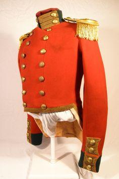 79th Cameron Highlanders Scottish officers coatee Crimean Captain c1856
