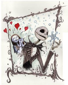 Sally Loves Jack by ~KeylessEntry on deviantART