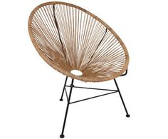 Polyrotan armstoelen Costa, 2 stuks | WestwingNow Bedroom Chair, Home Bedroom, Console Design, Acapulco Chair, Italian Home, Room Planning, Living Room Decor, Teak, Elle Decor