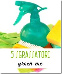 5 Sgrassatori universali fai da te - Green Me
