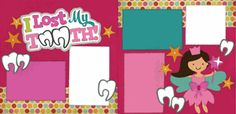 I Lost My Tooth! Girl Page Kit