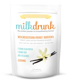 Milk Drunk protein powder is designed for breastfeeding moms looking to boost their milk supply. With lots of lactation-friendly ingredients, our powder is a high-protein snack ideal for healthy nursing moms!
