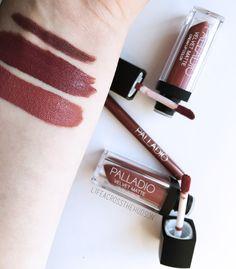 Need It or Leave It? Palladio Beauty | Palladio Velvet Matte Cream Lip Color in Raw Silk | Palladio Velvet Matte Cream Lip Color in Boucle | Palladio Waterproof Lipliner in Sand | Swatches