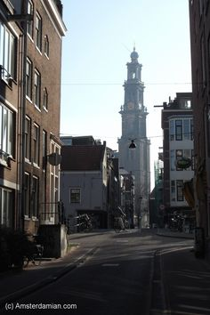View of the Westerkerk tower