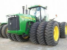 BIG GREEN AND AWESOME!!!!Either a 425hp 9400 or a 360hp 9300