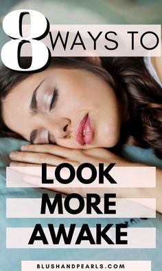 How I Fake Awake In 8 Steps - Blush & Pearls Makeup Artist Tips, Beauty Makeup Tips, Diy Beauty, Beauty Skin, Eye Makeup, Beauty Hacks, Makeup Hacks, Beauty Ideas, Clean Beauty
