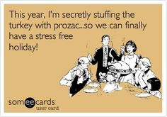 I think this might be a good idea! But then again what's a holiday without a little family stress. Wonder who will be the creator this year?