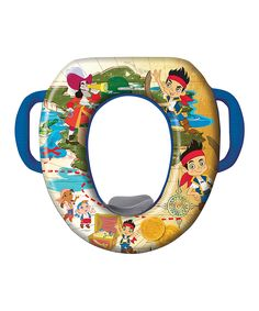 Jake and the Never Land Pirates Soft Potty Seat