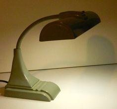 Industrial Gooseneck Desk Lamp by Art Specialty Co. Desk Lamp, Table Lamp, Vintage Industrial, Art For Sale, Lamps, Bulb, Lighting, Etsy, Home Decor