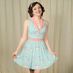 Sourpuss Clothing Sailor Kitties June Dress