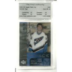 TFA 10 GEM MINT Jaromir Jagr 2001 - 2002 Upper Deck Ice #42 Washington Capitals Listing in the Graded,2000-2010,Singles,NHL,Hockey,Sports Cards,Sport Memorabilia & Cards Category on eBid United States | 149817817