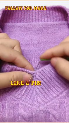 Sewing For Beginners Diy, Easy Sewing Projects, Sewing Basics, Sewing Tips, Sewing Hacks, Sewing Tutorials, Sewing Crafts, Diy Clothes Life Hacks, Clothing Hacks