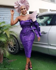 Latest Lace Asoebi Styles Volume 45 – A Million Styles African Lace Styles, African Lace Dresses, Latest African Fashion Dresses, African Print Fashion, Ankara Styles, African Wear, African Attire, African Outfits, African Traditional Wedding