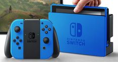 Nintendo Switch with Neon Blue and Neon Red Joy-Con - Nintendo Switch Games - Trending Nintendo Switch Games - Nintendo Switch in color: look at the possibilities Nintendo Switch Console Ideas of Nintendo Switch Console Nintendo Switch Games, Xbox 360 Games, Playstation, Nintendo Switch Accessories, Gaming Memes, Pokemon Cards, Pokemon Pokemon, Super Smash Bros, Cool Stuff
